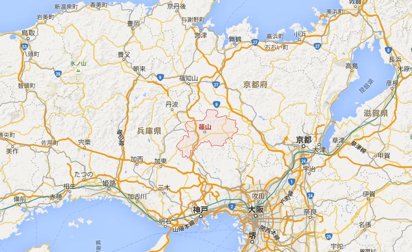 FireShot Capture - 兵庫県篠山市 - Google マップ_ - https___www.google.co.jp_maps_place_
